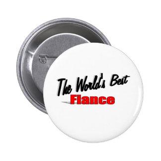 The World's Best Fiance 6 Cm Round Badge