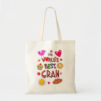 The World's Best Gran Budget Tote Bag