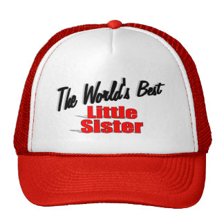 The World's Best Little Sister Mesh Hats