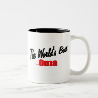 The World's Best Oma Two-Tone Coffee Mug