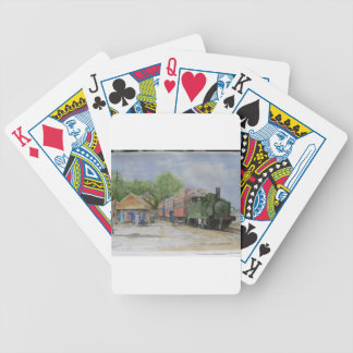 The World's first railway Bicycle Playing Cards
