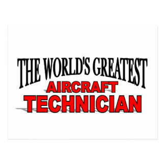 The World's Greatest Aircraft Technician Post Cards