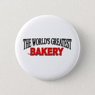 The World's Greatest Bakery 6 Cm Round Badge