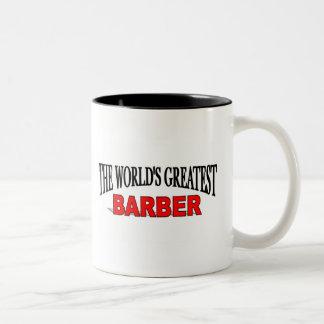 The World's Greatest Barber Two-Tone Coffee Mug