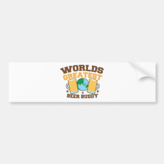 The worlds greatest BEER BUDDY Bumper Stickers