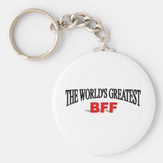 The World's Greatest BFF Key Ring