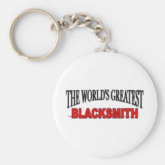 The World's Greatest Blacksmith Key Ring