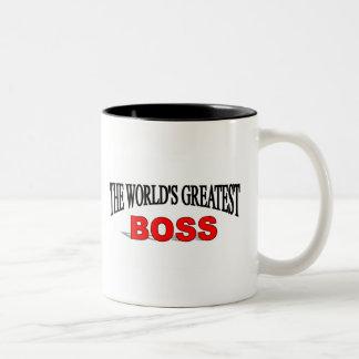 The World's Greatest Boss Coffee Mugs