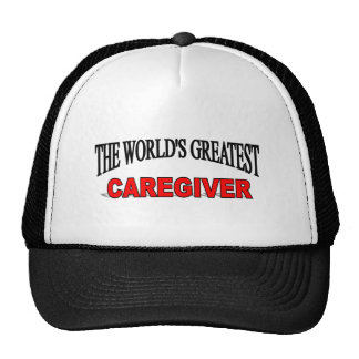 The World's Greatest Caregiver Mesh Hats