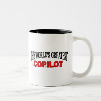 The World's Greatest Copilot Two-Tone Coffee Mug