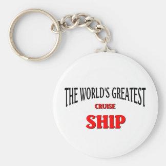 The World's Greatest Cruise Ship Key Ring