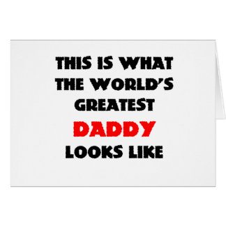 THE WORLDS GREATEST DAD CARD