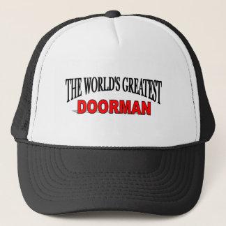 The World's Greatest Doorman Trucker Hat