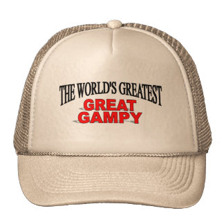 The World's Greatest Great Gampy Mesh Hats