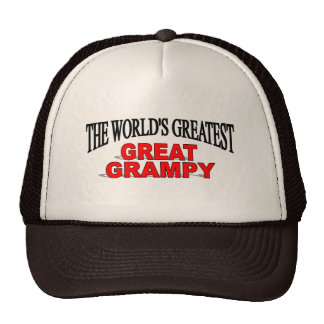 The World's Greatest Great Grampy Mesh Hats