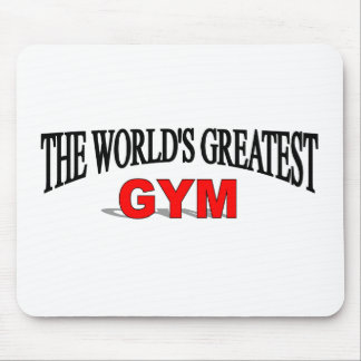 The World's Greatest Gym Mouse Pad
