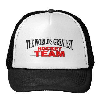 The World's Greatest Hockey Team Hats