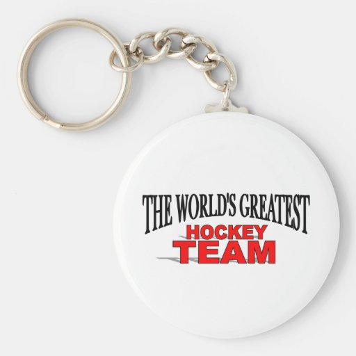The World's Greatest Hockey Team Key Chain