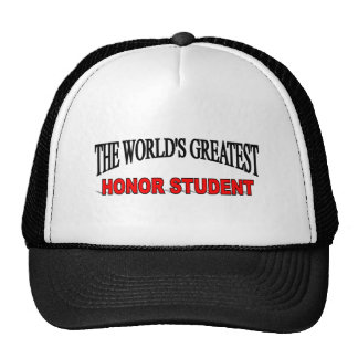 The World's Greatest Honor Student Hat