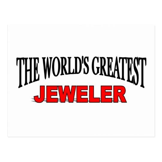 The World's Greatest Jeweller Postcard