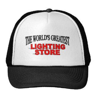 The World's Greatest Lighting Store Mesh Hats
