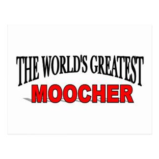 The World's Greatest Moocher Postcard