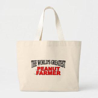 The World's Greatest Peanut Farmer Bags