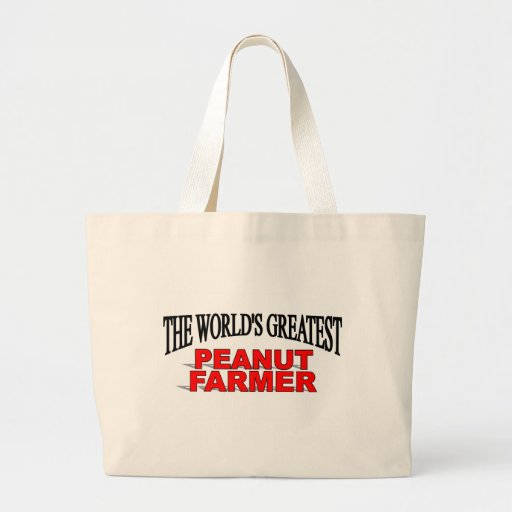 The World's Greatest Peanut Farmer Bags