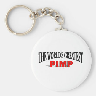 The World's Greatest Pimp Key Ring