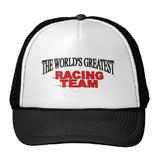 The World's Greatest Racing Team Hat