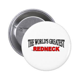 The World's Greatest Redneck 6 Cm Round Badge