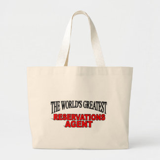 The World's Greatest Reservations Agent Bags