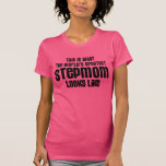 the worlds greatest stepmom looks like tshirts