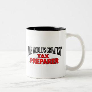 The World's Greatest Tax Preparer Mugs