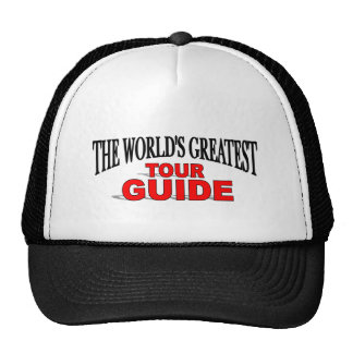 The World's Greatest Tour Guide Hats