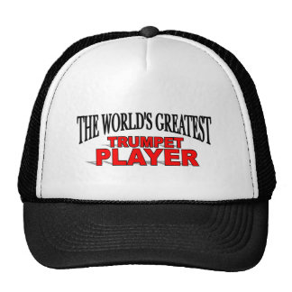 The World's Greatest Trumpet Player Mesh Hats