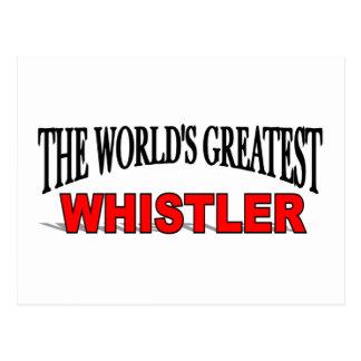 The World's Greatest Whistler Postcard