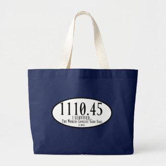 The Worlds Longest Yard Sale Jumbo Tote Jumbo Tote Bag