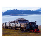 The world's northernmost train, Svalbard Post Card