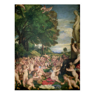 The Worship of Venus, 1519 Postcard