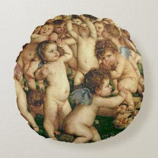 The Worship of Venus, 1519 Round Cushion