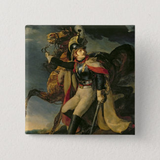 The Wounded Cuirassier, 1814 15 Cm Square Badge