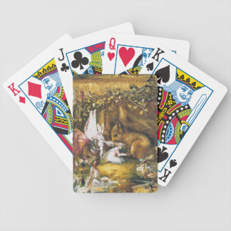The Wounded Squirrel Bicycle Playing Cards