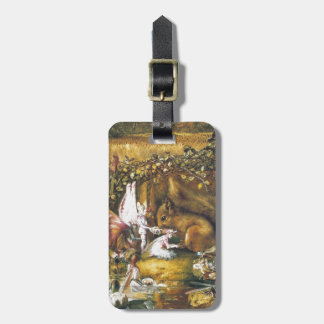 The Wounded Squirrel Luggage Tag