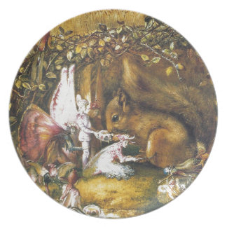 The Wounded Squirrel Party Plates