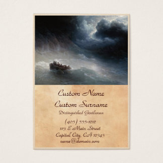 The Wrath of the Seas Ivan Aivazovsky seascape