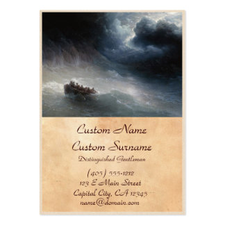 The Wrath of the Seas Ivan Aivazovsky seascape Pack Of Chubby Business Cards