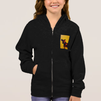 The Wriggly Ralph Collection, Girls Zip Hoodie