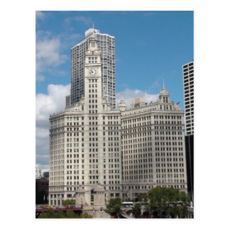 The Wrigley Building, Chicago, On A Beautiful Day Postcard
