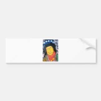 The Wrinkly Rocker Bumper Sticker